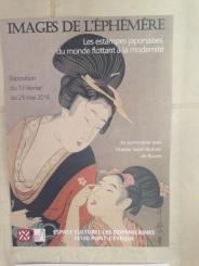 Une belle exposition sur les estampes japonaises, au couvent des Dominicaines!