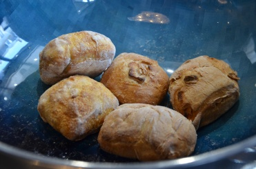 pain au maïs, cidre et pomme fait maison