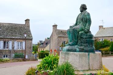 Statue du peintre Jean-François Millet