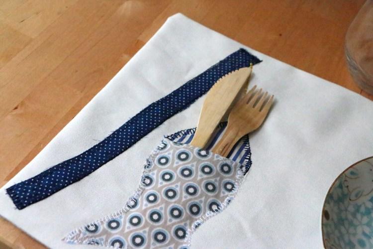 Diy pour la f te des m res un set de table pratique et facile faire my lovely normandy - Faire un set de table plastifie ...