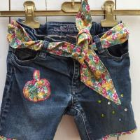 DIY : customisation d'un short en jean